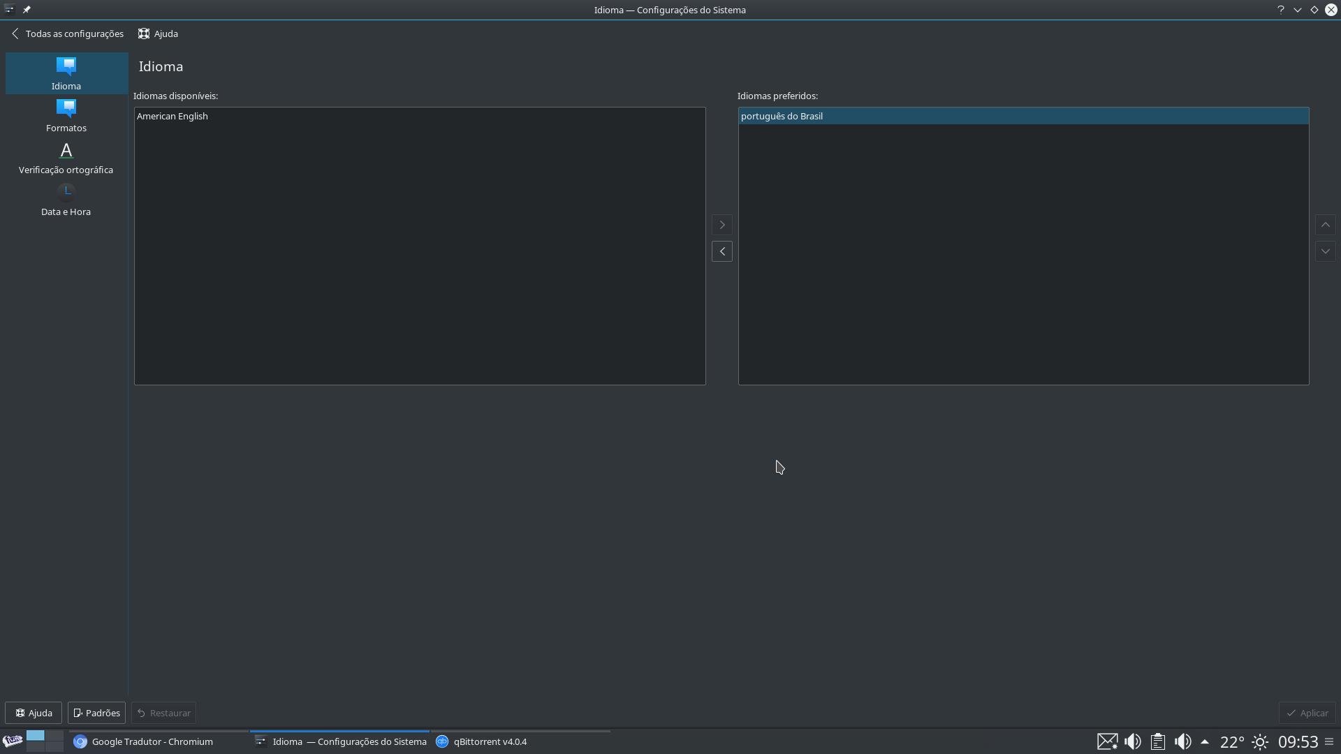 Several problems on KDE-Plasma - Desktop Help - funtoo forums